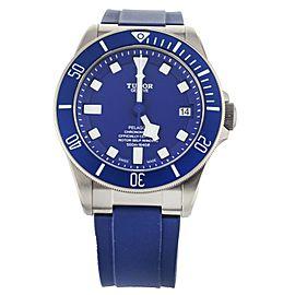 Tudor Pelagos Blue Dial Titanium 42mm 25600T Full Set