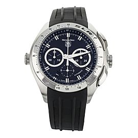 TAG Heuer Mercedes Benz SLR Stainless Steel Black Dial Chronograph 45mm CAG2110
