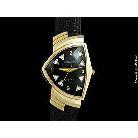"1950's Hamilton Electric Ventura ""500"" Model Vintage Mens Assymetric Wristwatch"