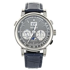 A. Lange & Sohne Datograph Perpetual White Gold Grey Dial 41mm