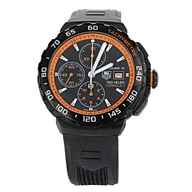 Tag Heuer Formula 1 Chronograph PVD Stainless Steel Orange on Rubber CAU2012-0