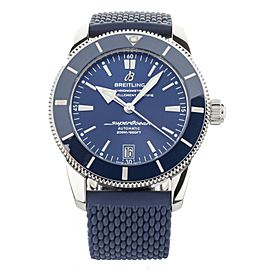 Breitling Superocean Heritage B20 Blue Dial Rubber Strap 42mm AB2010 Full Set