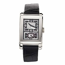 Rolex Cellini Prince White Gold Black and Silver Dial 28x47mm 5443-9