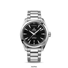 OMEGA Aqua Terra Co-Axial Chronometer Day Date 41.5mm SS Steel - Minty, Warranty