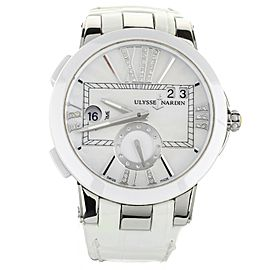 ULYSSE NARDIN DUAL TIME LADY 243-10 40MM CASE STAINLESS STEEL FULL SET