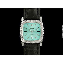 1973 ROLEX Ladies Vintage Stainless Steel & Diamond Watch