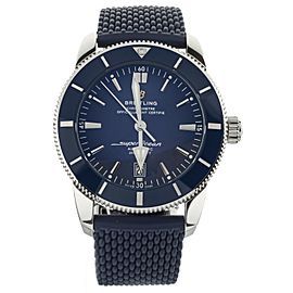 Breitling Superocean Heritage B20 Blue Dial Rubber Strap 42mm AB2020 Full Set