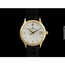 JAEGER-LECOULTRE Master Control Date Mens Watch, 18K Rose Gold