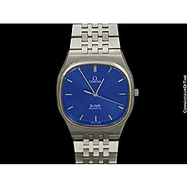 1981 OMEGA De Ville Classic Retro Mens Stainless Steel Watch,