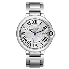 Cartier Ballon Bleu 42 Steel Automatic Mens Watch