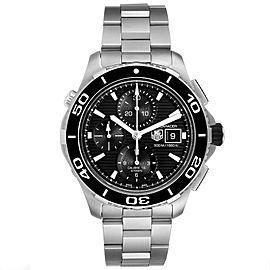 Tag Heuer Aquaracer Black Dial Steel Mens Watch CAK2110
