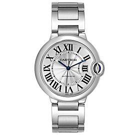 Cartier Ballon Bleu Midsize 36 Steel Ladies Watch W6920046