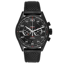 Tag Heuer Carrera Calibre 36 Flyback Titanium Mens Watch CAR2B80
