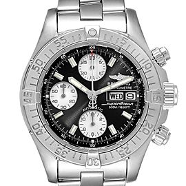 Breitling Aeromarine Superocean Black Dial Mens Watch