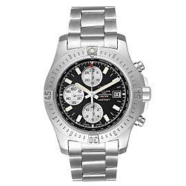 Breitling Colt Black Dial Stainless Steel Mens Watch A13388