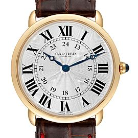 Cartier Ronde Louis 33mm Privee Collection Yellow Gold Unisex Watch 0900