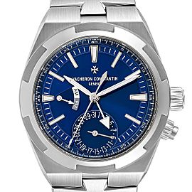 Vacheron Constantin Overseas Dual Time Blue Dial Watch 7900V