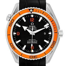 Omega Seamaster Planet Ocean XL Orange Bezel Watch 2908.50.91