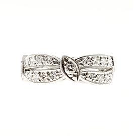 Platinum 0.85ct Diamond Eternity Vintage Ring Size 6