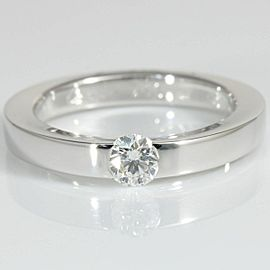 Cartier 18K White Gold Diamond Ring CHAT-133