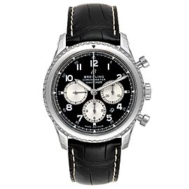 Breitling Navitimer Aviator 8 B01 Steel Mens Watch AB0117 Unworn