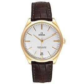 Omega DeVille Tresor Yellow Gold Watch 432.53.40.21.02.001