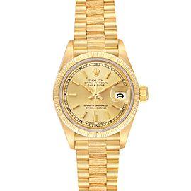 Rolex President Datejust 18K Yellow Gold Ladies Watch 69278