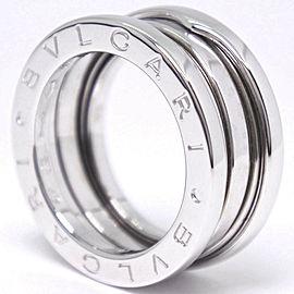 BVLGARI B.Zero 1 18k White Gold B Zero Ring 4.5