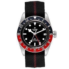 Tudor Heritage Black Bay GMT Pepsi Bezel Mens Watch 79830RB
