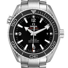 Omega Seamaster Planet Ocean Steel Mens Watch