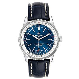 Breitling Navitimer 1 Blue Dial 41mm Steel Mens Watch A17326