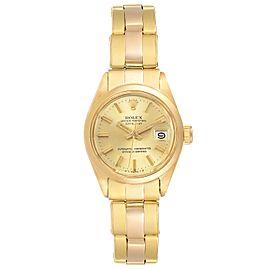 Rolex Datejust 26mm 18K Yellow Gold White Dial Ladies Watch