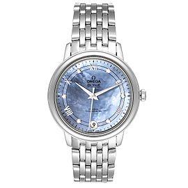Omega DeVille Prestige MOP Diamond Ladies Watch 424.10.33.20.57.001