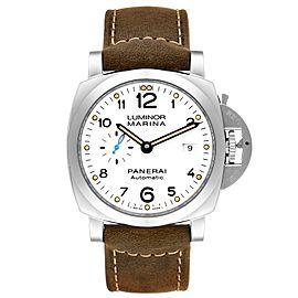 Panerai Luminor Marina 1950 White Dial Automatic Watch PAM01499