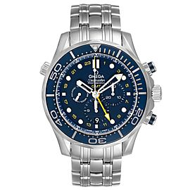 Omega Seamaster 300 GMT Chronograph Watch 212.30.44.52.03.001