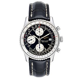 Breitling Navitimer II Black Dial Steel Mens Watch