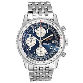 Breitling Navitimer II Blue Dial Chronograph Steel Mens Watch A13322
