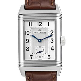 Jaeger LeCoultre Reverso Grande Taille Steel Mens Watch 270.8.62 Q3858520