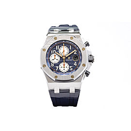 Audemars Piguet Royal Oak Offshore Navy 26470ST.OO.A027CA.01 Stainless Steel Blue Chronograph 42mm Watch