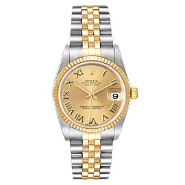 Rolex Datejust Midsize 31mm Steel Yellow Gold Ladies Watch 78273