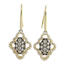 Le Vian 14K Yellow Gold 0.86ct. Diamond Drop Earrings