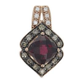 Le Vian 14K Rose Gold Rhodolite Garnet & 0.32ctw Diamond Pendant