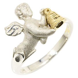 Carrera Y Carrera 925 Sterling Silver Angel Ring Size 6