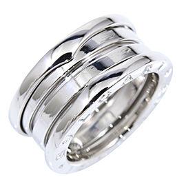 Bulgari B-Zero 1 18K White Gold Ring Size 4.75