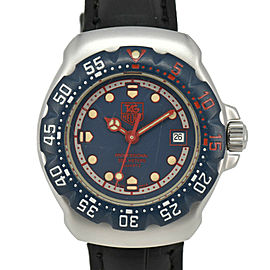 TAG HEUER Formula 1 WA1410 Navy Dial SS/Leather Quartz Ladies Watch