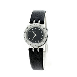 Bulgari B-Zero1 BZ23BSCL Stainless Steel / Leather Quartz 23mm Womens Watch