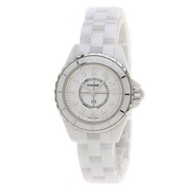 Chanel J12 H2570 Ceramic & Diamond 29mm Womens Watch