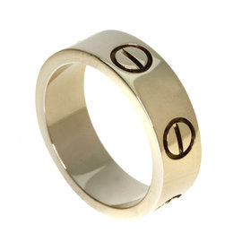 Cartier Love 18K Pink Gold Ring Size 4