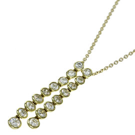 Tiffany & Co. 18K Yellow Gold With Diamond Necklace