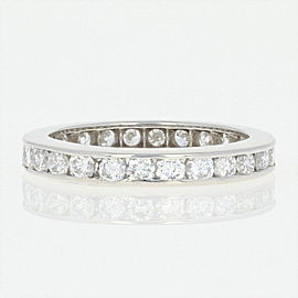 Platinum Diamond Wedding Ring Size 4